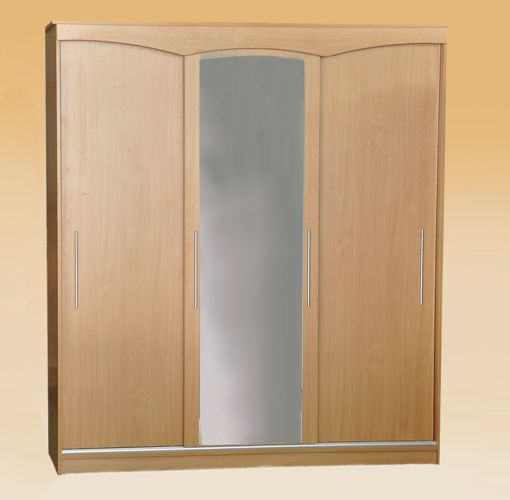 Trijų durų rūbų spinta