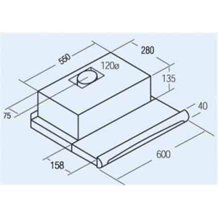 CATA-TF5060C-Inox-schema